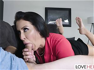 LoveHerFeet - Stepson boinks His Stepmom On The bed