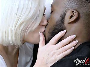 AgedLovE Lacey Starr XXL Size granny hard-core intercourse