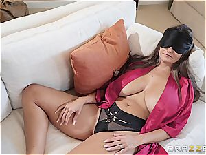 fabulous Ava Addams fucked by her stepson