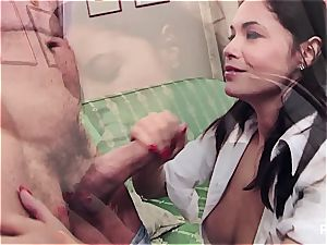 Ava deep throating her favorite professor
