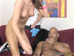 Aiden Aspen bi-racial hotwife intercourse With Shane Diesel
