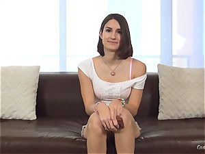 Ayn Marie at her first-ever pornography audition