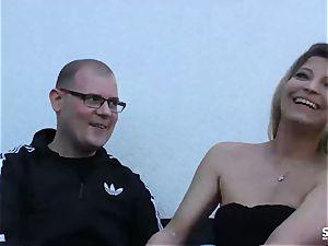 SEXTAPE GERMANY - German blonde first-timer bangs on webcam