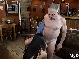elder gal vid hard-core Can you trust your girlpatron leaving her alone with your daddy?