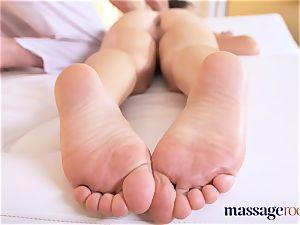 massage rooms super-fucking-hot French honey Tiffany rails immense fuckpole