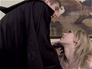 Horror flick boinking with stellar Lily Labeau
