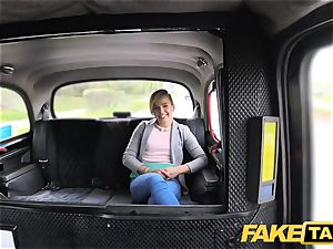 fake taxi adorable small nubile gets free rail