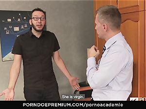 pornography ACADEMIE - nubile luvs insane ass fucking pulverizing