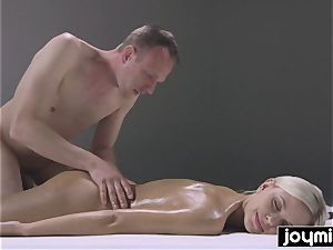 ultra-kinky ravaging nuru massage with ash-blonde perfection