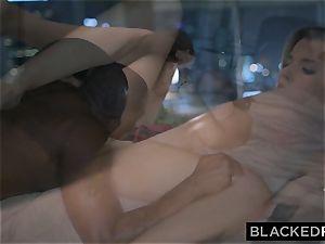 BLACKEDRAW bootylicious bombshell Hooks Up With big black cock After party