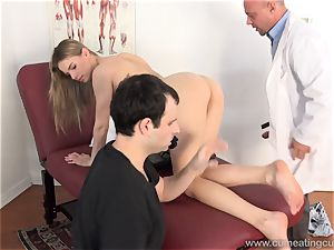 Jillian Gets nailed By Real dude in Front of hubby